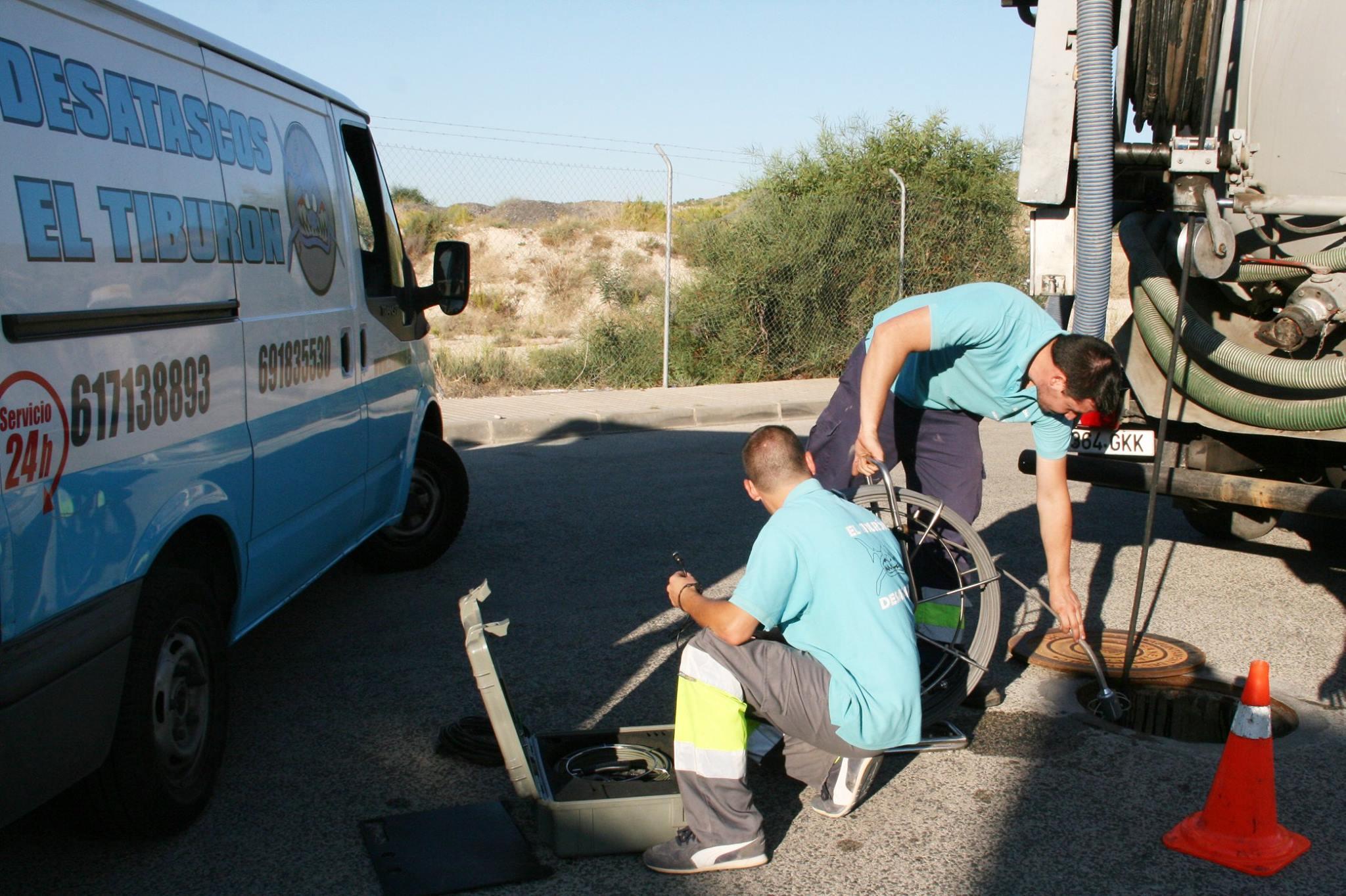 Arreglo de tuberías sin obra,  desatranco, desatasco en San Vicente del Raspeig, Mutxamel,  San Juan de Alicante, Playa de San Juan