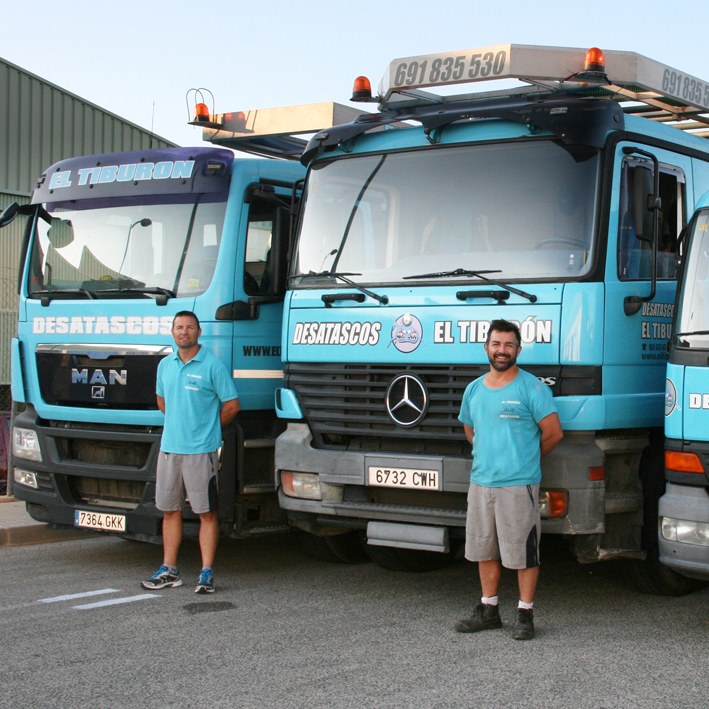 Tank trucks for emptying, cleaning of septic tanks, pipes and wells Benidorm, Villajoyosa, San Vicente del Raspeig, Playa San Juan, Mutxamel, Alicante.
