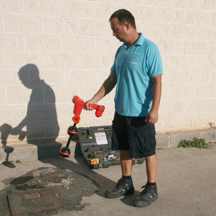 Detector de arquetas ocultas, fosas, pozos, roturas, problemas dentro de tubos. Altea, Moraira Calpe, San Vicente del raspeig, San Juan de Alicante...