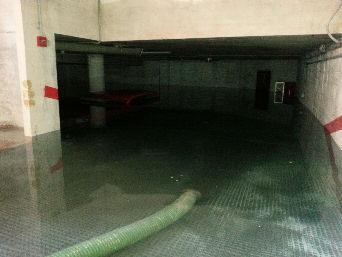 Vaciado de garajes por inundaciones en Playa de San Juan, San Juan de Alicante, Benidorm, Calpe, El Campello,  San Vicente del Raspeig etc...