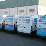 Vehicles for urgent unlocking and unclogging in 24 hours a day throughout the province of Alicante, from Elche to Jávea.