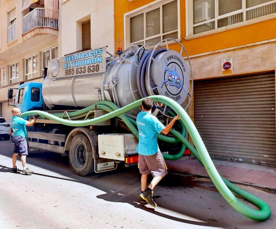 desatascos urgentes 24 horas Torrevieja