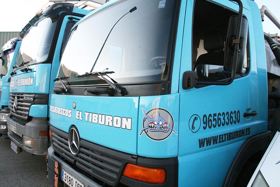 camiones cuba El Tiburón